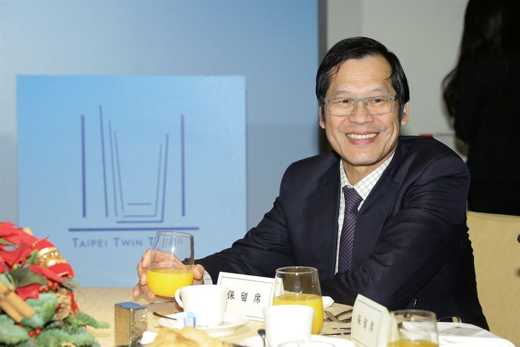 藍天宏匯集團遞補雙子星案,承諾將會在60天內完成專案公司成立。圖為藍天集團董事長許崑泰。(藍天宏匯集團提供)中央社記者潘羿菁傳真 108年10月18日