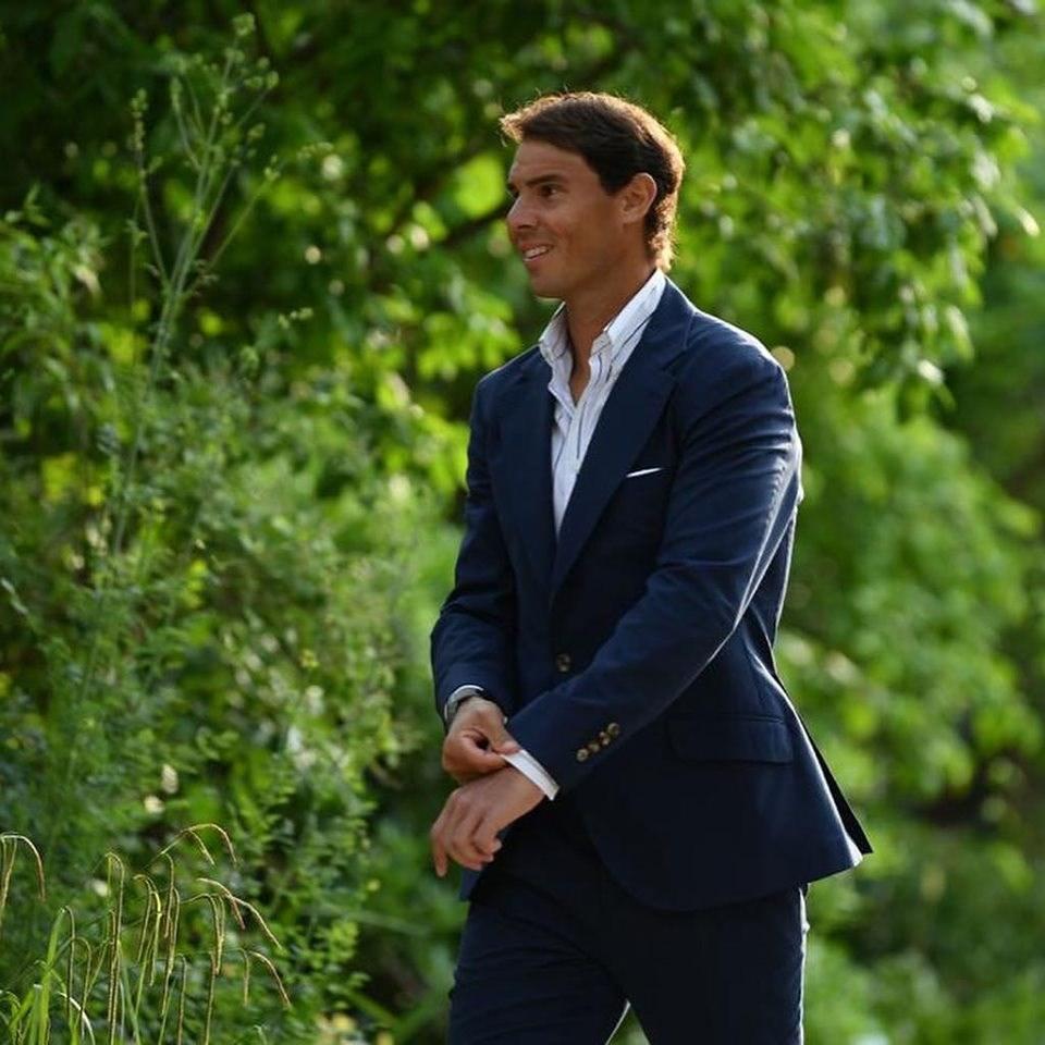 西班牙網球名將納達爾(圖)19日在故鄉馬約卡島一座城堡,與愛情長跑14年的女友希絲卡.佩雷約結為連理。(圖取自facebook.com/Nadal)
