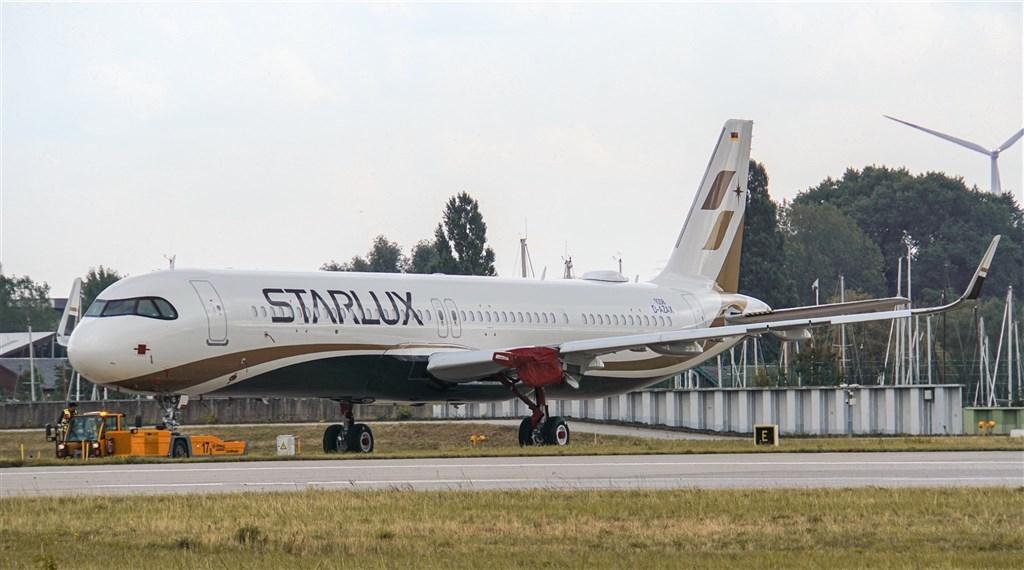 星宇航空首架A321neo客機將於10月28日由星宇航空董事長張國煒親自駕回。圖為星宇航空公布首架A321neo全機彩繪塗裝圖片。(圖取自facebook.com/starluxairlines)