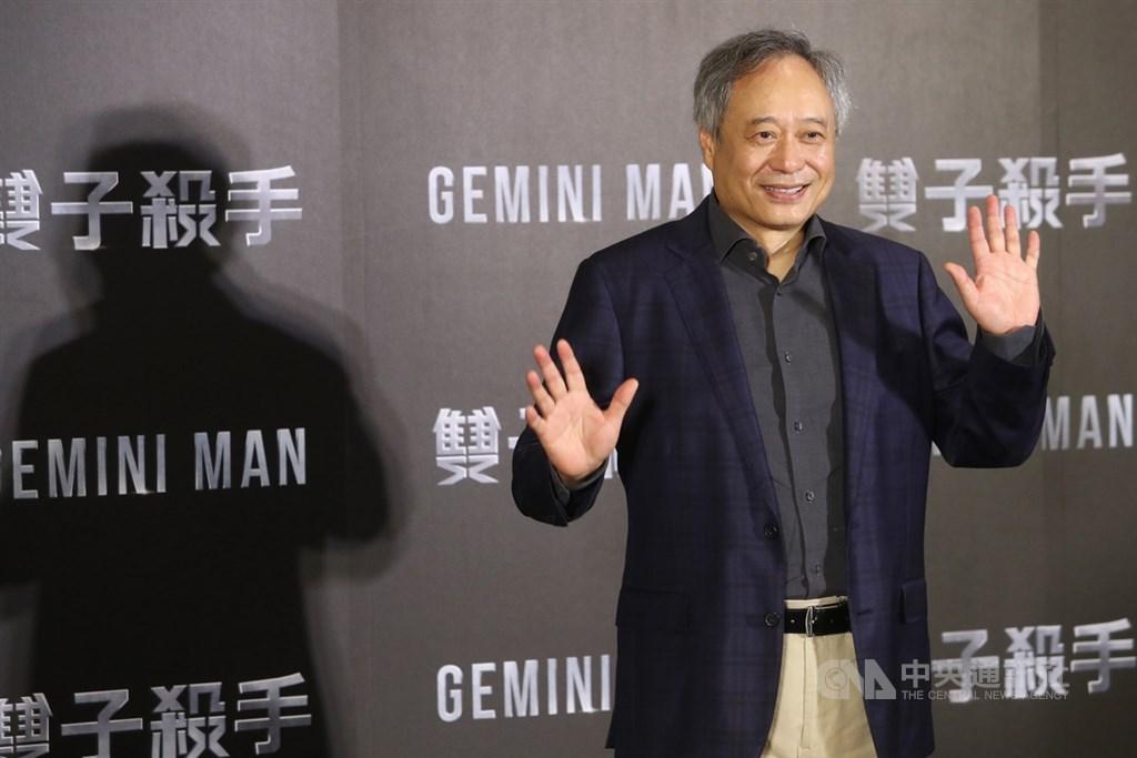 新片「雙子殺手」(Gemini Man)將正式上映,導演李安21日下午在台北出席記者會,為電影進行宣傳。中央社記者王騰毅攝 108年10月21日