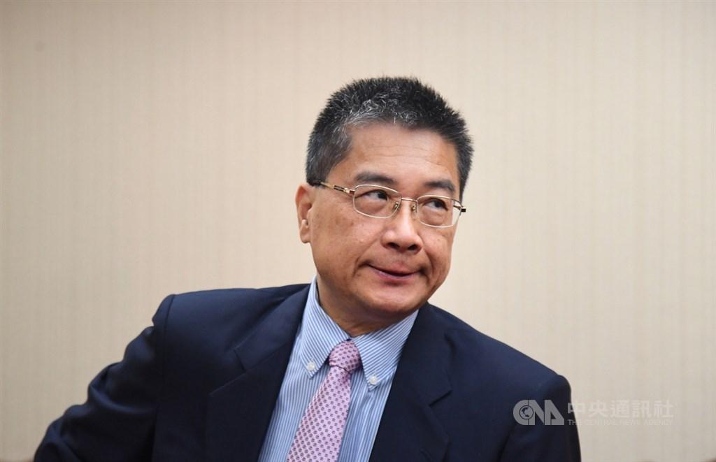 內政部長徐國勇21日說,曾接見香港牧師管浩鳴,當時不知管身兼北京市政協委員,對於陳同佳案他並未答覆或承諾。中央社記者王飛華攝 108年10月21日