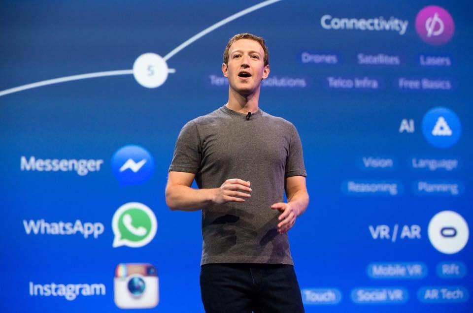 祖克柏21日重申,即使臉書在2016年因政治選戰的廣告飽受攻擊,臉書的立場仍堅持言論開放與表達自由。(圖取自facebook.com/zuck)