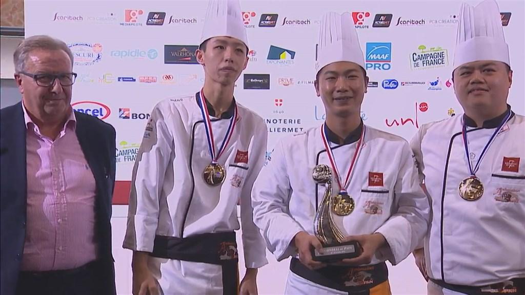 兩年一度的世界麵包大賽在法國南特舉行,台灣隊2019年獲總成績第二名,距三連霸可惜只差一步。(圖取自EXPONANTES, LE PARC YouTube網頁youtube.com)