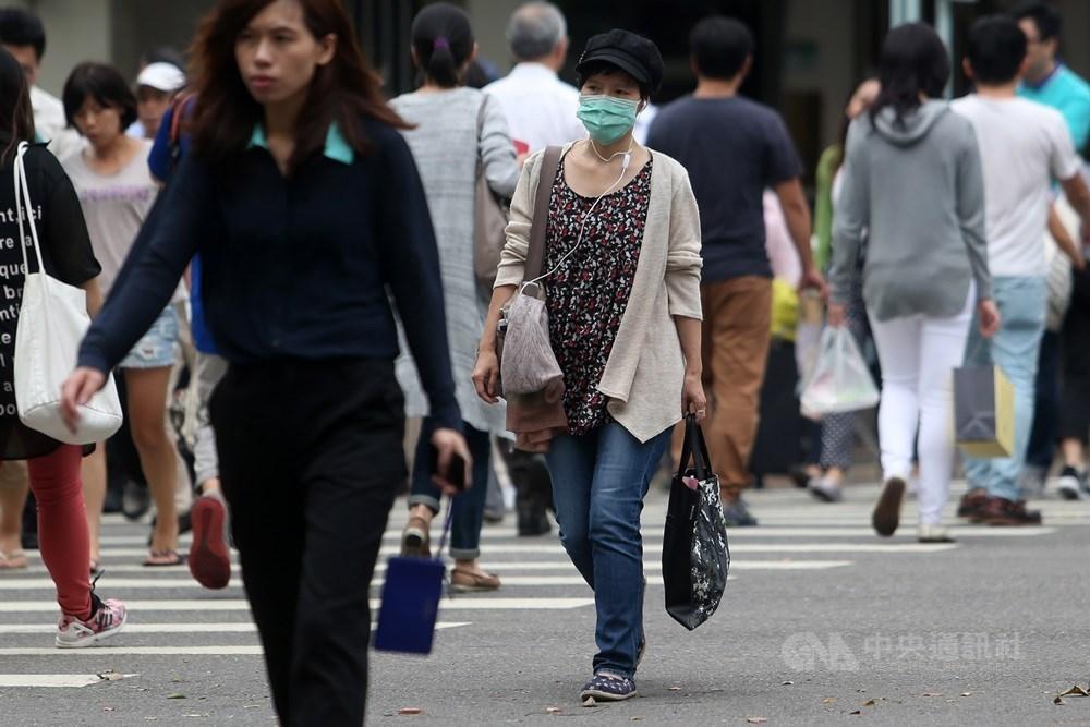 氣象專家吳德榮24日表示,根據最新預報顯示29日鋒面報到,北台灣天氣明顯轉變。(中央社檔案照片)