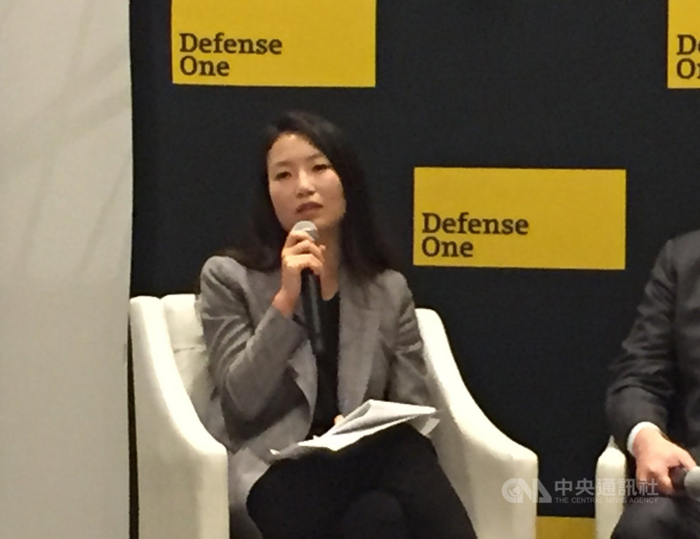 美國和平研究所資深政策分析師金今天表示,美國應該給予台灣支持,因為這是正確的事。談及明年大選,她認為將和去年選舉不同,因為香港情勢,選民將更關注中國議題。中央社記者江今葉華盛頓攝 108年11月8日