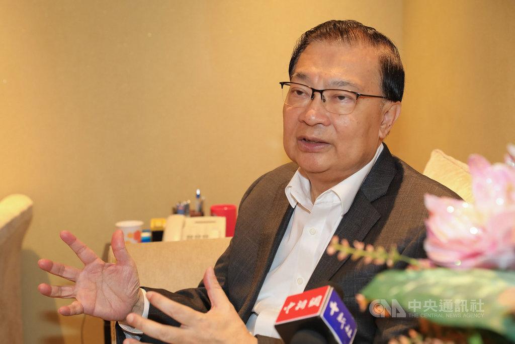 中國全國人大常委譚耀宗10日表示,香港目前會有人對23條立法感到擔心,「或故意製造擔心」,但立法不能不做。圖為譚耀宗9月接受媒體專訪。(中新社提供)中央社 108年11月10日