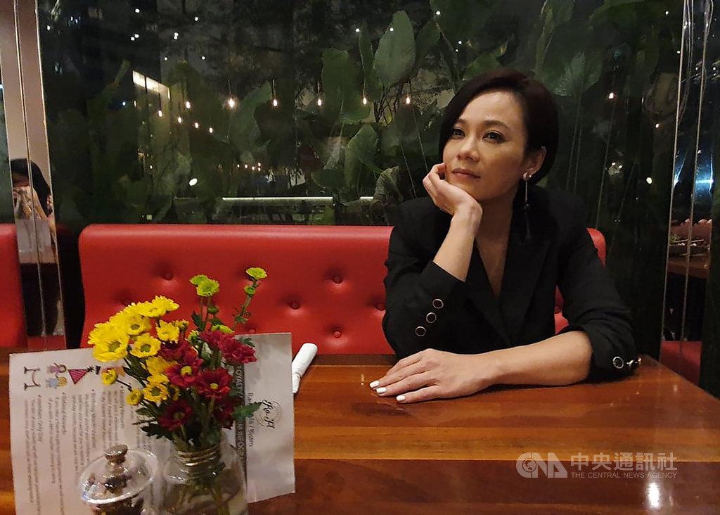 楊雁雁很感激兩部作品能被金馬獎評審看見。對她而言,金馬獎的藝術包容性很大,而且幾乎對中文電影沒有邊界,從來不考慮電影資金與規格多少,就只是看電影內的故事與情感的呈現。中央社記者郭朝河吉隆坡攝 108年11月12日