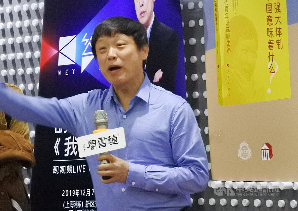 中共官媒環球時報總編輯胡錫進12日稱,連日來香港的「勇武派暴徒」不斷升級暴力,如果「暴徒」狂妄地升級挑戰,「國家直接出手將是必然的」。(資料照片)中央社 108年11月12日