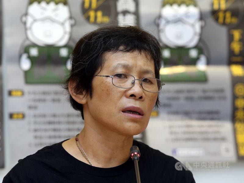 台灣水資源保育聯盟理事長陳椒華接受時代力量徵召參選不分區立委,這是她首次有機會踏入政壇。(中央社檔案照片)