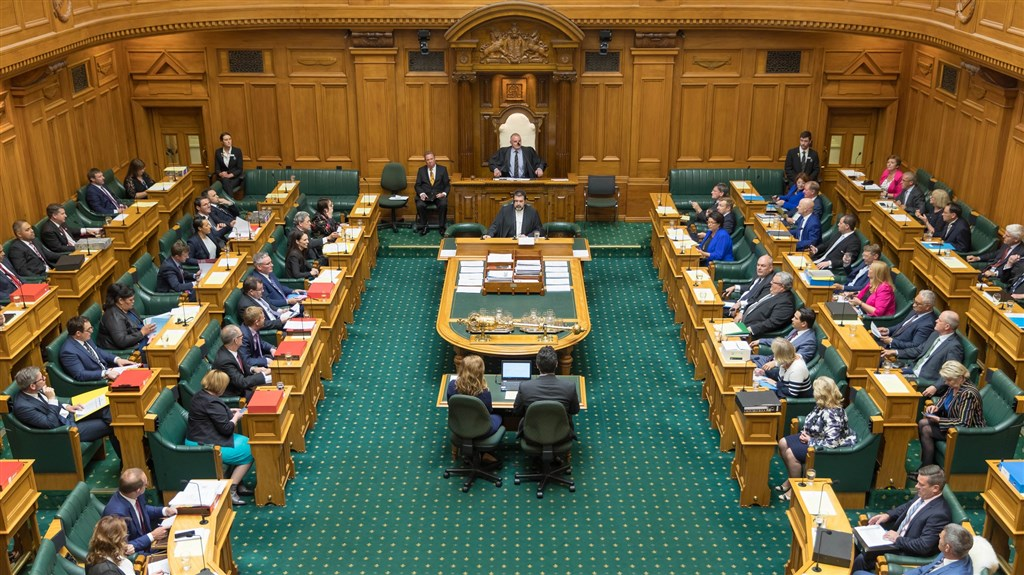 紐西蘭國會議員13日以69票贊成、51票反對,通過安樂死法案,法案只適用於很可能於6個月內死亡的末期病患。(圖取自紐西蘭議會網頁www.parliament.nz)