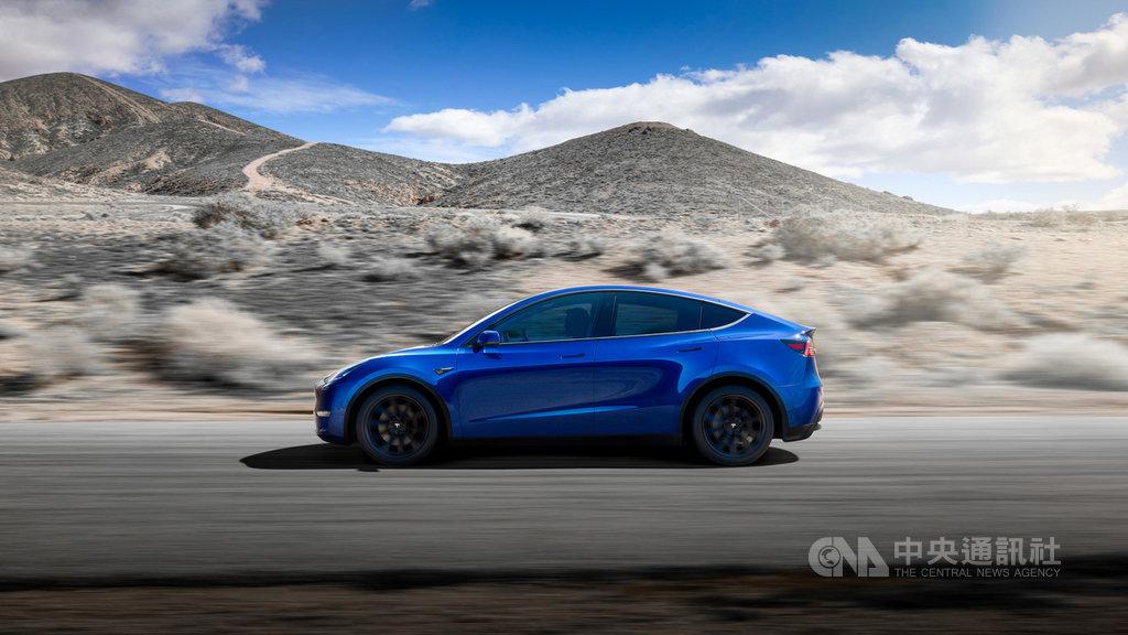 特斯拉執行長馬斯克(Elon Musk)12日在柏林宣布,將在柏林地區興建歐洲第一座工廠,生產休旅車Model Y。(特斯拉提供)中央社記者林育立柏林傳真 108年11月14日