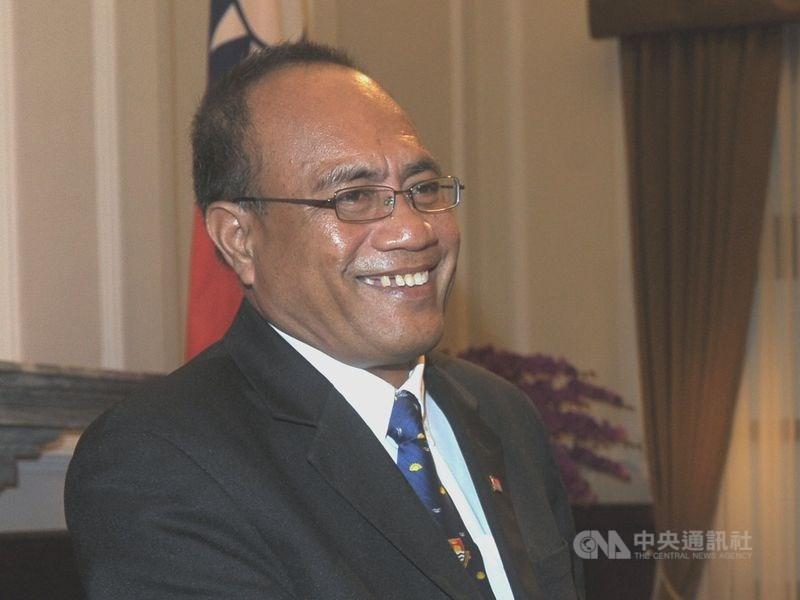 吉里巴斯總統馬茂(圖)9月宣布與台灣斷交,在野陣營不滿並提出不信任動議,但國會議長萬伊14日突然宣布休會。(中央社檔案照片)