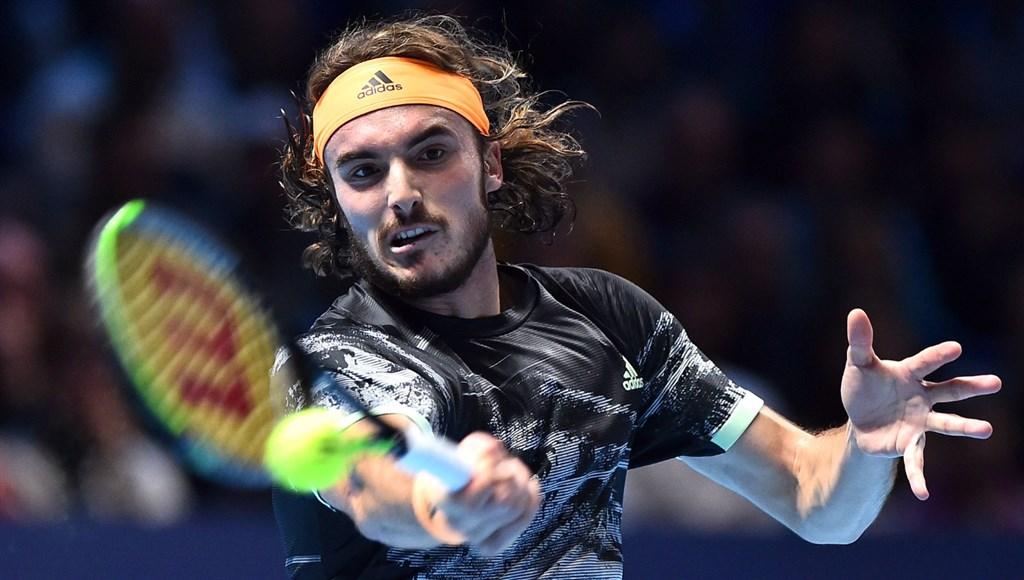 年僅21歲的希臘網球新星西西帕斯(圖)17日逆轉擊敗奧地利好手提姆,贏得ATP世界巡迴年終賽冠軍。(圖取自twitter.com/atptour)