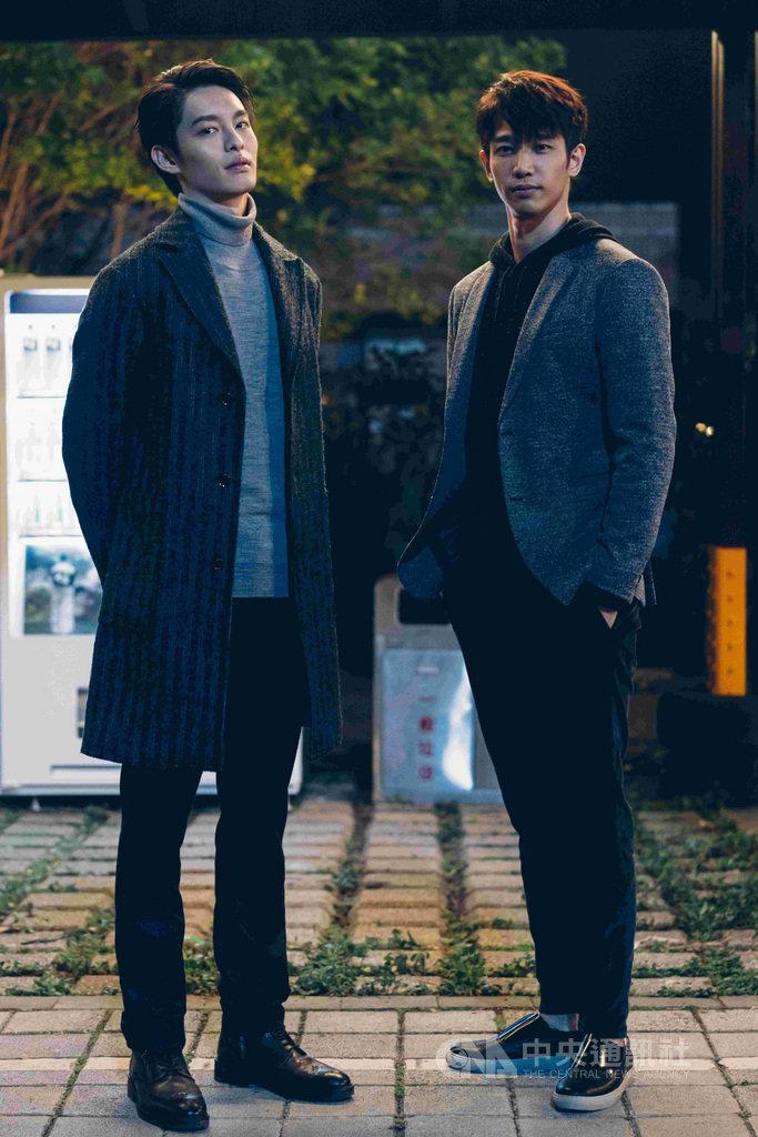Netflix華語原創影集「極道千金」18日發布正式預告,演員曹佑寧(左)首次與劉以豪(右)合作。(Netflix提供)中央社記者陳秉弘傳真 108年11月18日