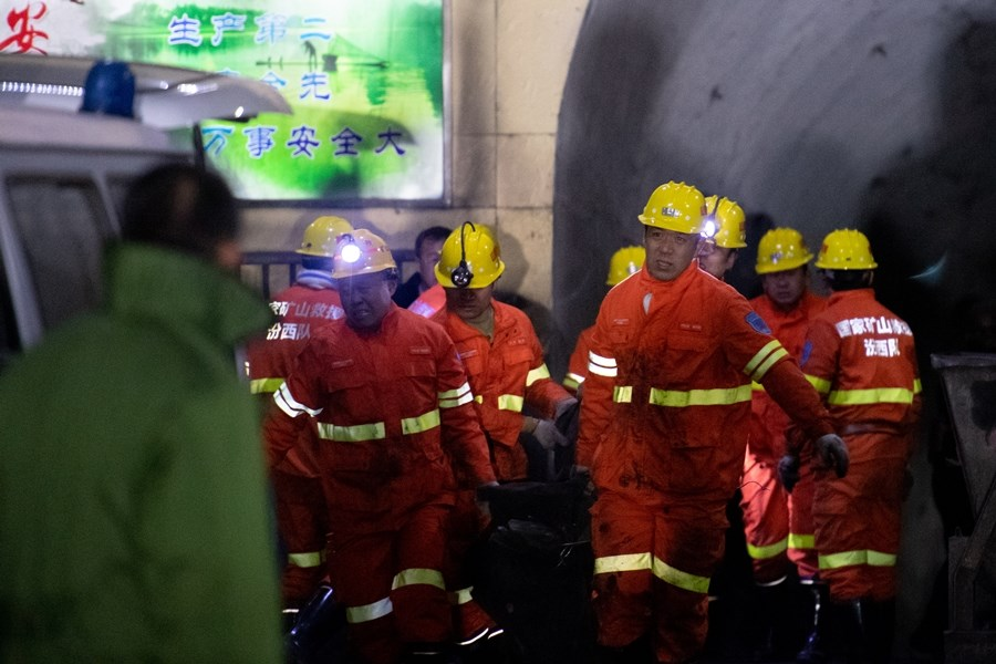 中國山西省平遙縣18日下午發生一起煤礦瓦斯爆炸事故,造成15死9傷。(中新社提供)