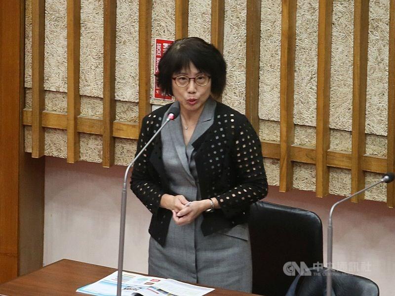 捲入高雄市長韓國瑜購屋風波,高雄市觀光局主任秘書高美蘭(圖)22日請辭。(中央社檔案照片)
