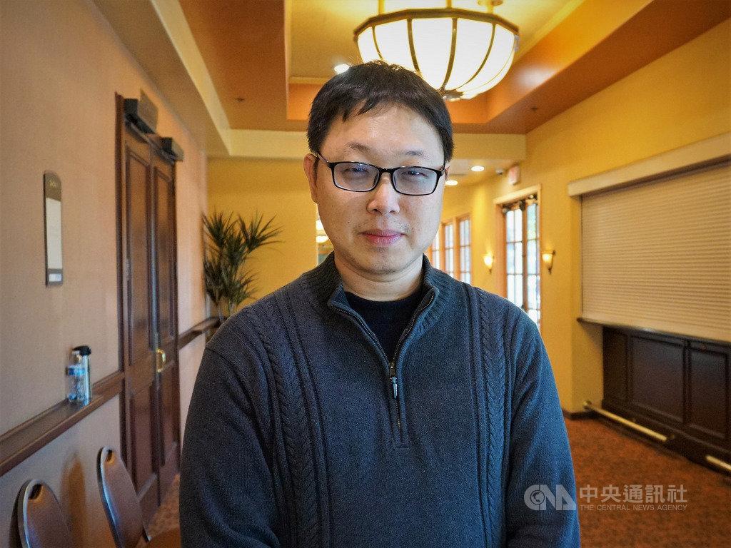 耐能智慧(Kneron)創辦人兼執行長劉峻誠(圖)鼓勵新一代的台灣科技人才,「要有一顆堅毅的心,勇敢打破框架」。中央社記者林宏翰洛杉磯攝 108年11月25日