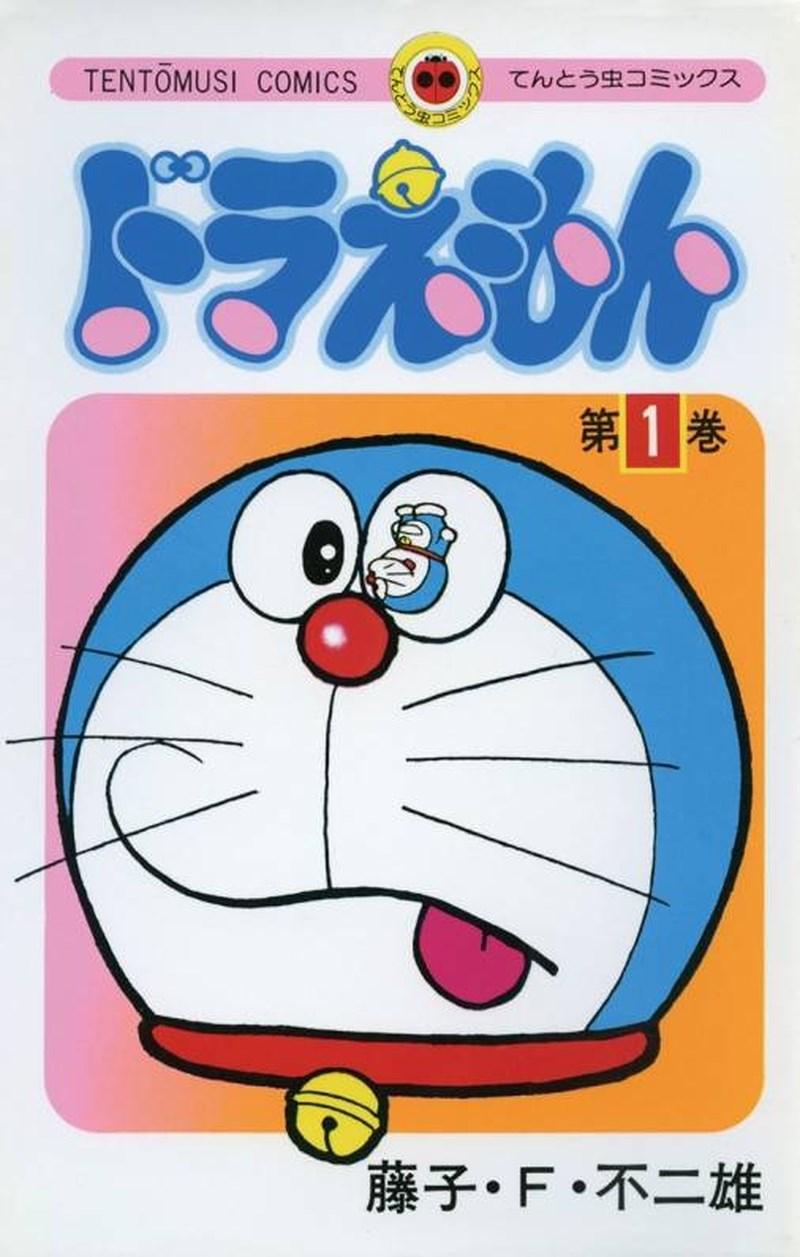 廣受歡迎的日本漫畫「哆啦A夢」,第1集(圖)從1974年上市後年年再刷,至今已45年不間斷,是出版商小學館最暢銷的單行本。(圖取自小學館網頁shogakukan.co.jp)