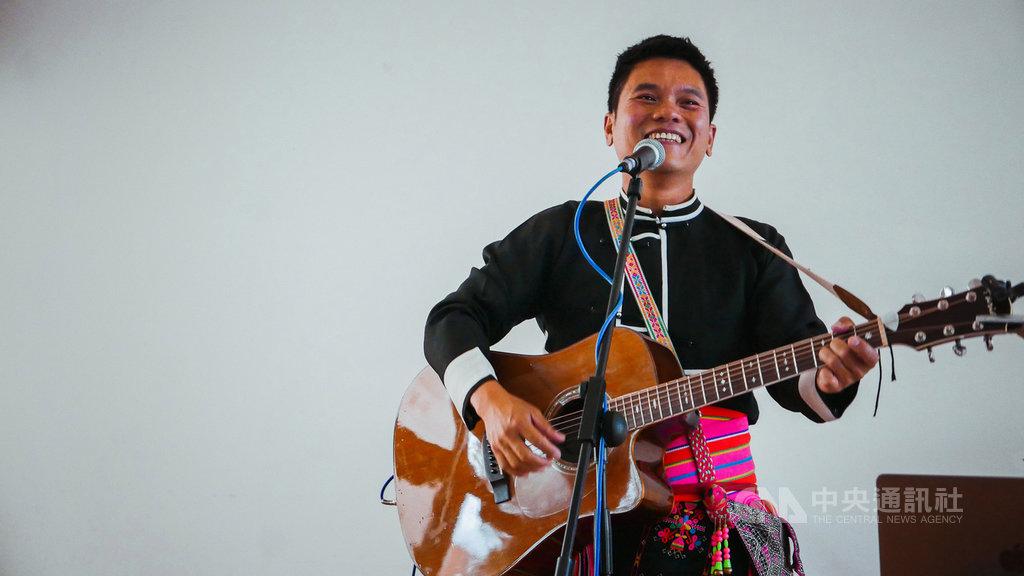 歌手舒米恩睽違5年推出新專輯Bondada,以台灣早期原住民歌曲中的bon-da-da節奏作為主要創作概念。(米大創意提供)中央社記者陳政偉傳真 108年11月28日
