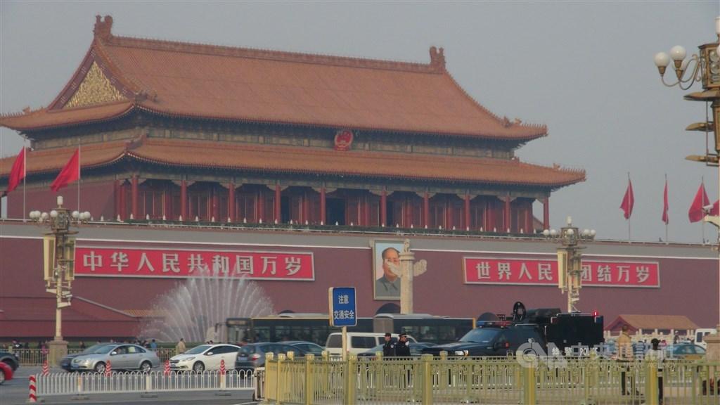 紐約時報分析,美國總統川普簽署香港人權與民主法案後,北京為了貿易談判無法撕破臉,反擊選擇有限。(示意圖/中央社檔案照片)