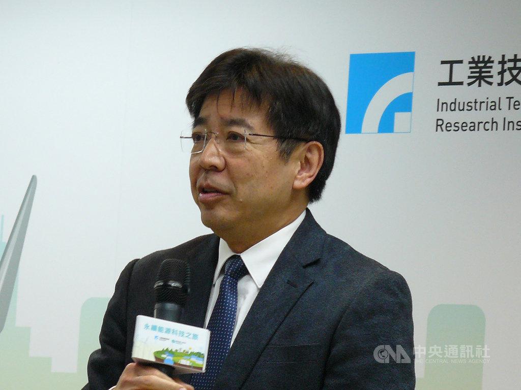 工研院院長劉文雄表示,台灣能源有98%仰賴進口,發展再生能源是不得不做的事情。中央社記者鍾榮峰攝 108年12月2日