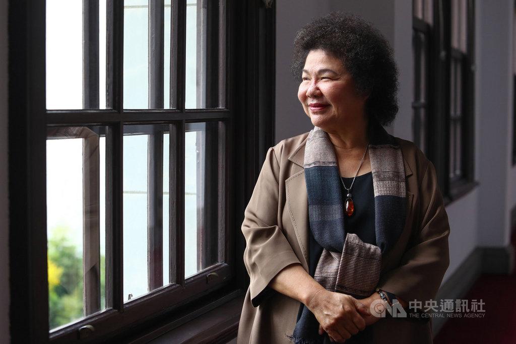 40年前,偶然的機緣促使現任總統府秘書長陳菊投入反對運動、參與了美麗島事件,陳菊在接受中央社專訪時說,這是「一生最漂亮的選擇」。中央社記者王騰毅攝 108年12月2日