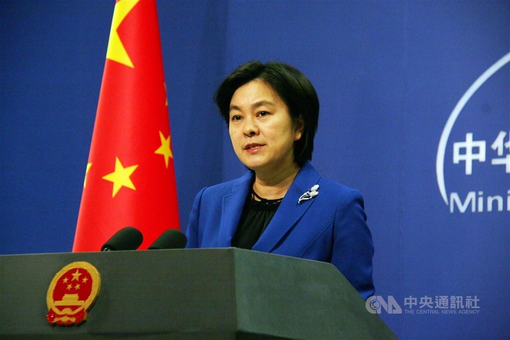針對美國總統川普簽署香港人權與民主法案,中國外交部發言人華春瑩2日表示,中國政府決定自即日起暫停審批美軍艦機赴港休整的申請。(中央社檔案照片)