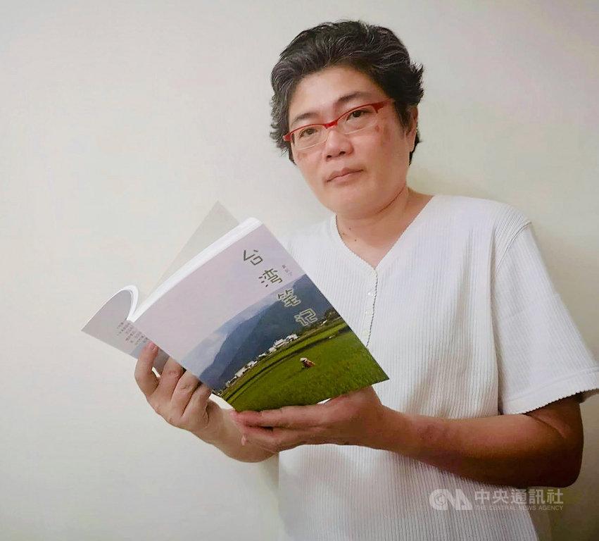 新加坡媒體人黃匡寧多年來寫台灣旅遊經歷,憑藉對媽媽娘家台灣的特殊情懷,最近以新書「台灣筆記」為筆耕台灣10年代表作。(黃匡寧提供)中央社記者黃自強新加坡傳真 108年12月2日