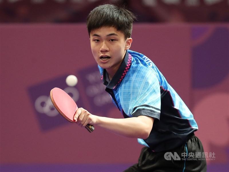 世界桌球總會3日公布最新世界排名,台灣小將林昀儒的排名從上個月的世界第10上升到第7。(中央社檔案照片)