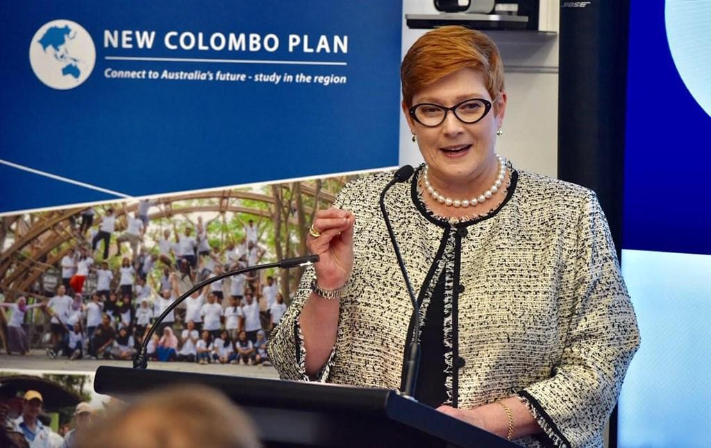 「澳洲人報」報導,澳洲外交部長潘恩(圖)要求國會外交事務、國防與貿易聯合常設委員會進行研究,以瞭解是否推出類似美國馬尼次基法法案。(圖取自facebook.com/senatormarisepayne)