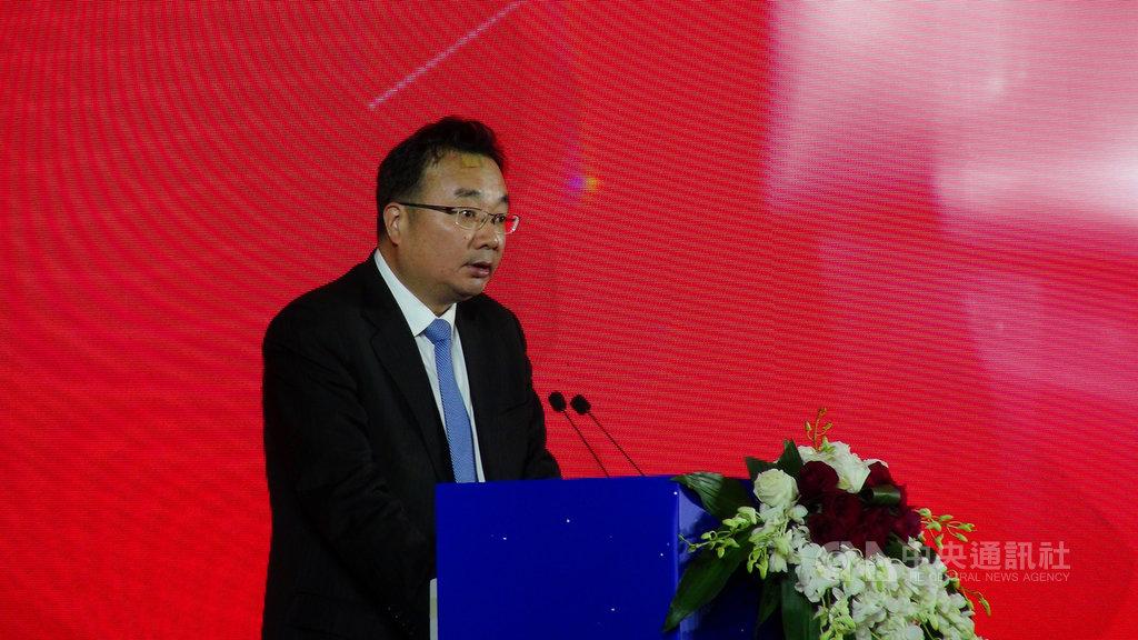 中國國台辦經濟局長張世宏5日在上海說,台商應看清大陸經濟發展的趨勢,轉型升級、開拓內需市場。中央社記者翟思嘉上海攝 108年12月5日