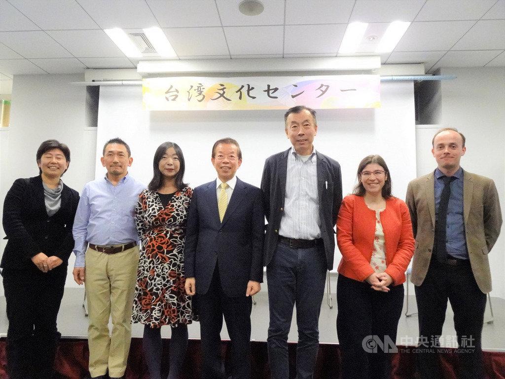 台灣與法國的駐日大使館文化中心5日晚間在東京合辦有關人權議題的分享會,邀請於10月到台灣參加國際人權聯盟第40屆年會的3名日本人權專家分享到台灣與會的心得。中央社記者楊明珠東京攝 108年12月6日