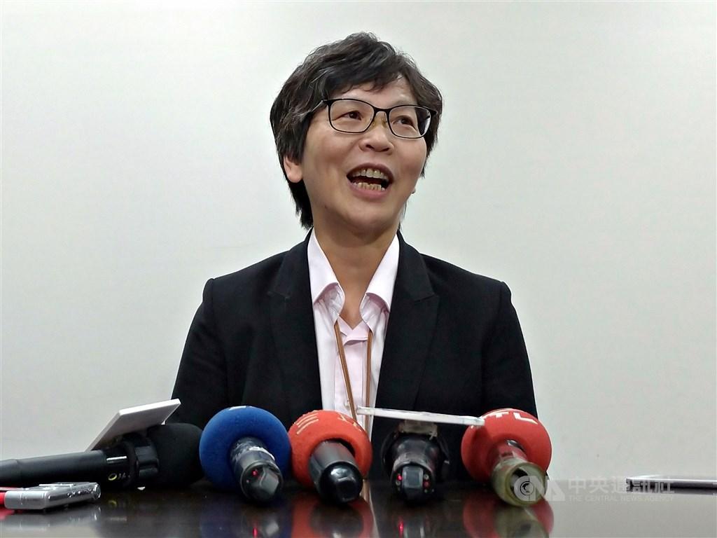 台北市長柯文哲籌組台灣民眾黨才短短數月,聲勢不弱。在從無到有的過程中,黨發起人蔡壁如(圖)是靈魂人物,在黨務與選務上扮演舉足輕重角色。(中央社檔案照片)