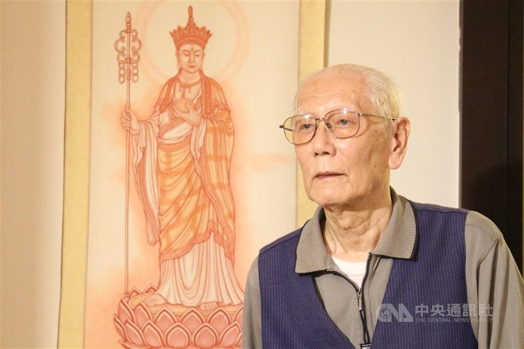 曾獲金漫獎「特別貢獻獎」的台灣國寶漫畫家許貿淞7日晚間辭世,享年82歲。(中央社檔案照片)