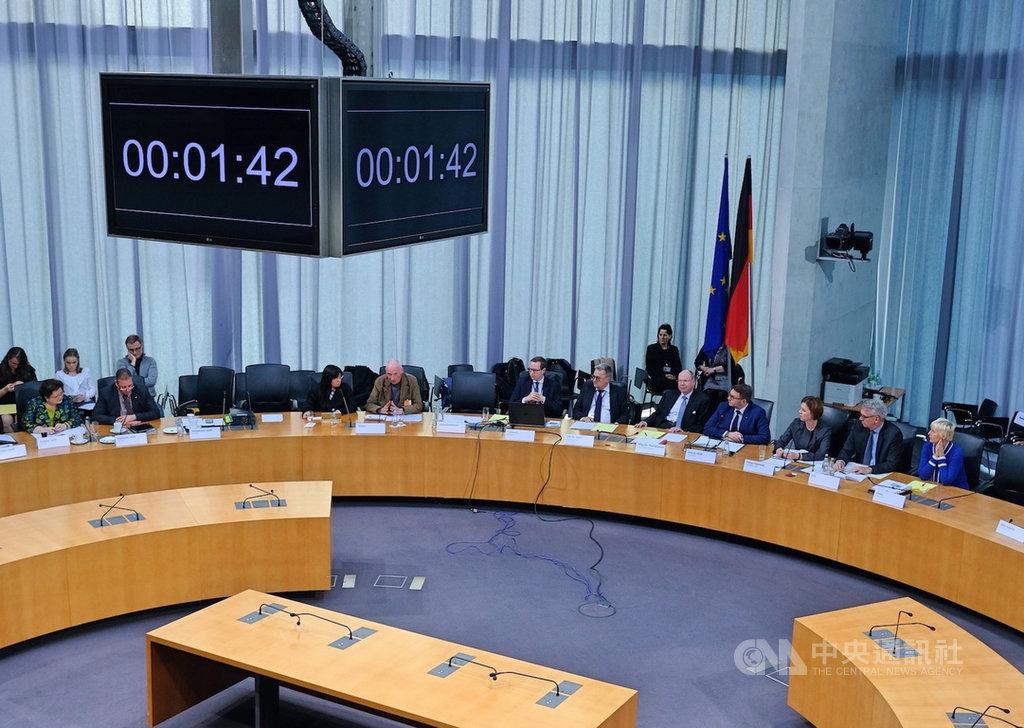 德國國會請願委員會9日(當地時間)舉行與台灣建交請願案的公聽會。中央社記者林育立柏林攝 108年12月10日