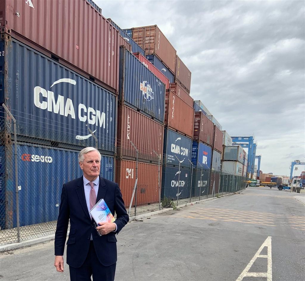 英國媒體揭露,英國脫歐首席談判代表巴尼耶(圖)私下表示,脫歐貿易談判在2021年前無望完成,打臉英相強生要完成脫歐的承諾。(圖取自twitter.com/MichelBarnier)
