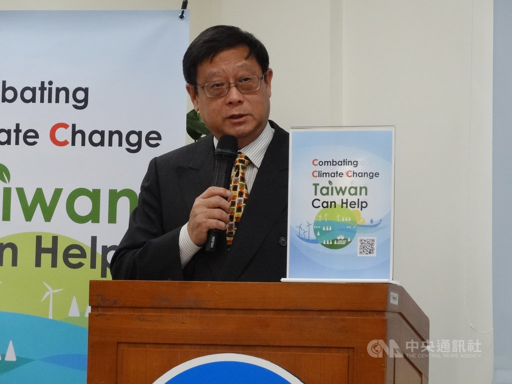 環保署16日舉行「COP25返國」記者會,稱受中國打壓下無法參與。環保署長張子敬說,這些年愈來愈嚴重,甚至不能報名。中央社記者楊淑閔攝 108年12月16日