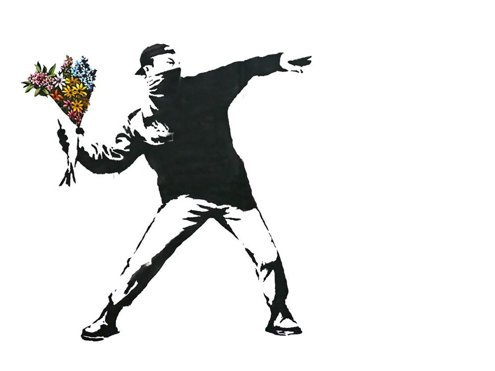 「班克西:天才或破壞王?」世界巡迴展自去年夏天以來已吸引超過70萬人參觀。但班克西的網站表示,從未授權任何展覽展出他的作品。(圖取自banksy.co.uk)