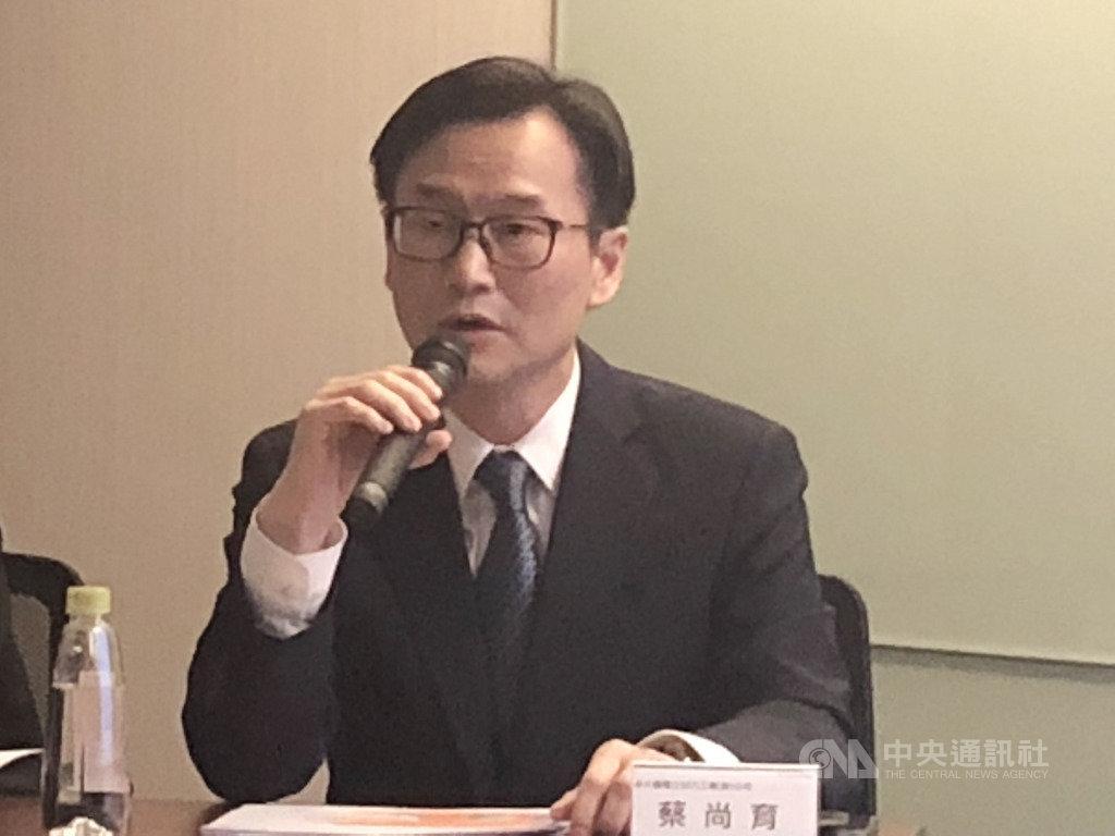 永大26日下午舉行法人說明會,總經理蔡尚育表示,台灣市場要創造營收利潤新高,中國大陸市場短期拚損平,集團要重回世界排名前10名。中央社記者鍾榮峰攝 108年12月26日
