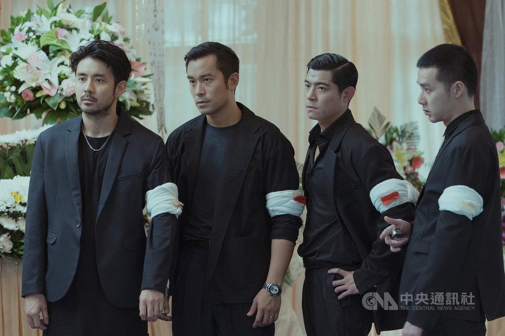 串流影音服務Netflix 30日公布2019年台灣會員最愛看影集排行榜,由張孝全(左2)等人主演的Netflix首部華語原創劇「罪夢者」排第3名,僅次於「獵魔士」和「AV帝王」。(Netflix提供)中央社記者吳家豪傳真 108年12月30日