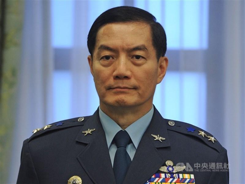 參謀總長沈一鳴二級上將2日殉職,3日追晉為一級上將,是2009年以來第一人。(中央社檔案照片)