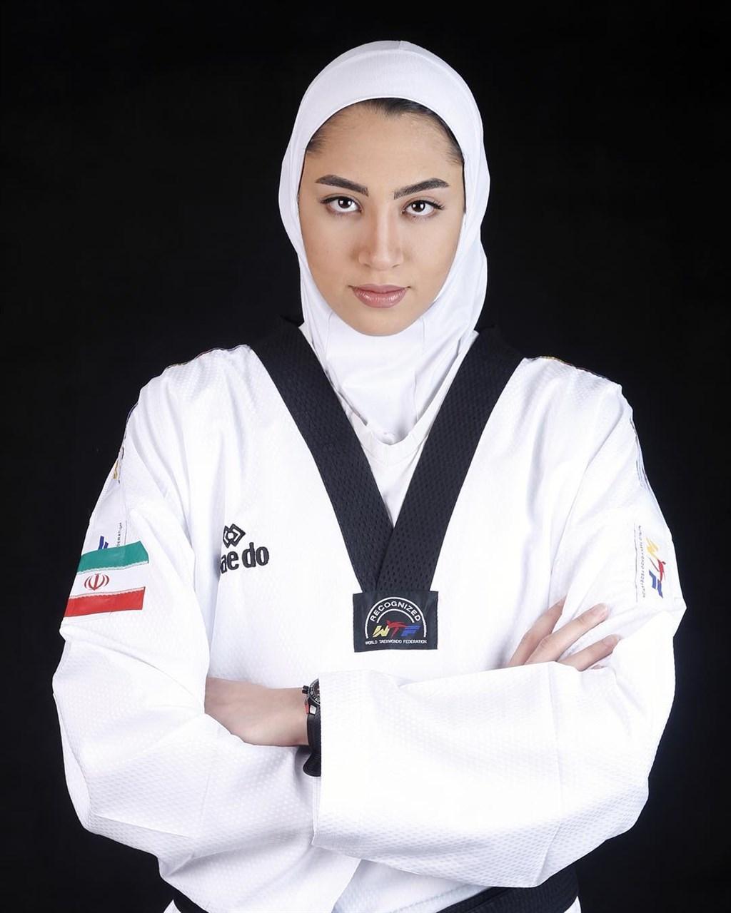 伊朗唯一在奧運奪牌的女運動員阿里薩德宣布永久離開祖國。(圖取自阿里薩德IG網頁instagram.com/kimiya.alizade)