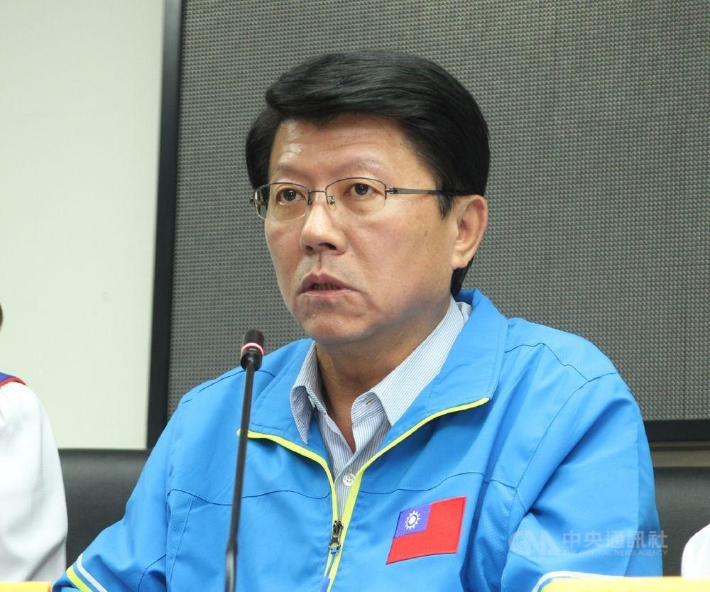 選前曾表態將參選國民黨主席的國民黨台南市黨部主任委員謝龍介14日表示,正在準備,不排除任何可能。(中央社檔案照片)