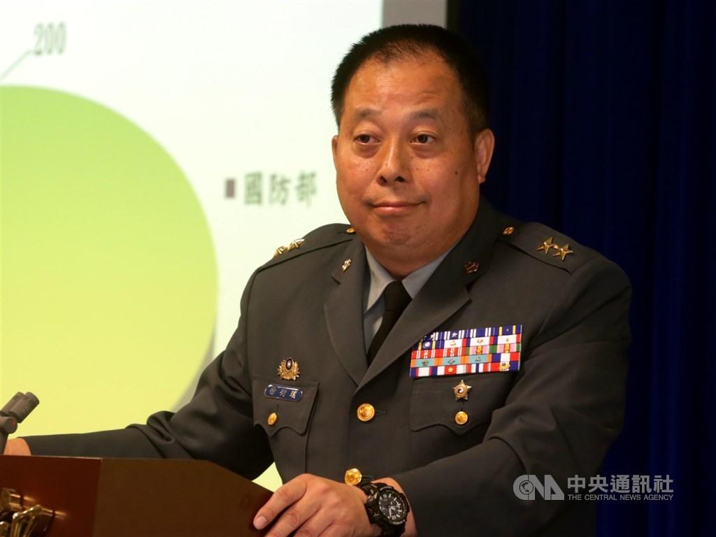 國防部常務次長徐衍璞將調任參謀本部副參謀總長執行官,成為國軍首位具有原住民血統的上將。(中央社檔案照片)