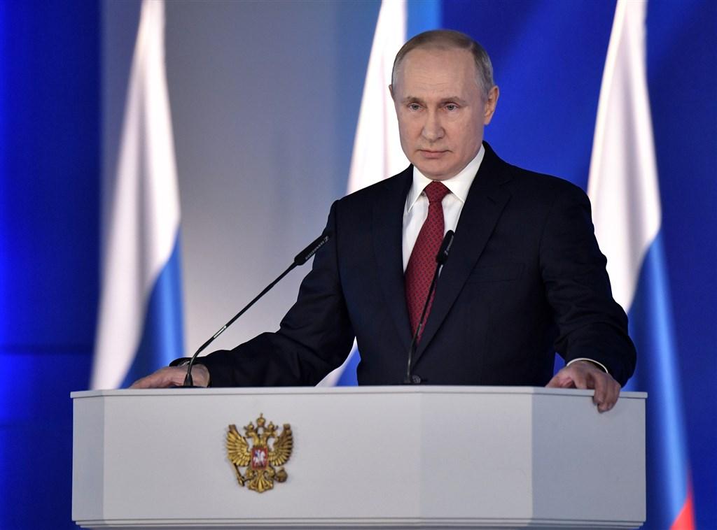 俄羅斯總統蒲亭(圖)15日建議推動憲政改革,強化國會的角色,並提名名氣不大的稅務局長米舒斯京接任總理。(圖取自twitter.com/KremlinRussia_E)
