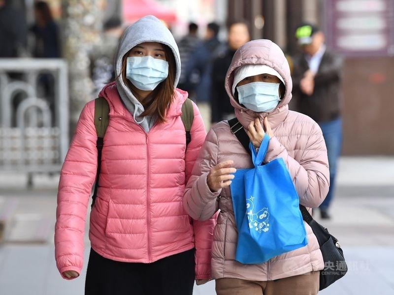氣象局表示27日清晨北台灣低溫約落在12度到15度左右,白天高溫也只有15度到17度,預計月底將是這波冷氣團最冷的時候。(中央社檔案照片)