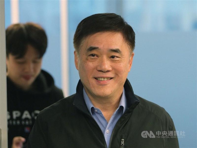 前國民黨副主席郝龍斌20日宣布參選國民黨主席,郝龍斌表示,在兩岸關係上,國民黨應帶領全體國民脫離民進黨的台獨綁架及共產黨的統一勒索。(中央社檔案照片)