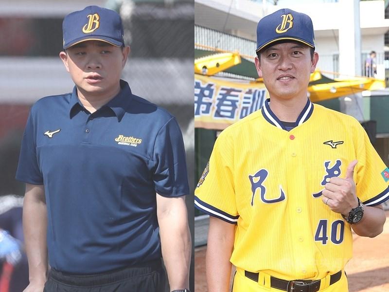 中華職棒22日宣布6搶1東京奧運最終資格賽中華隊完整教練團名單,確認彭政閔(左)、王建民(右)加入教練團。(中央社檔案照片)