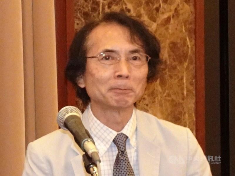 日本學者小笠原欣幸(圖)在大選期間曾來台觀選6次,他22日公布選前做的大選預測結果,與實際得票率僅相差0.6個百分點。(中央社檔案照片)