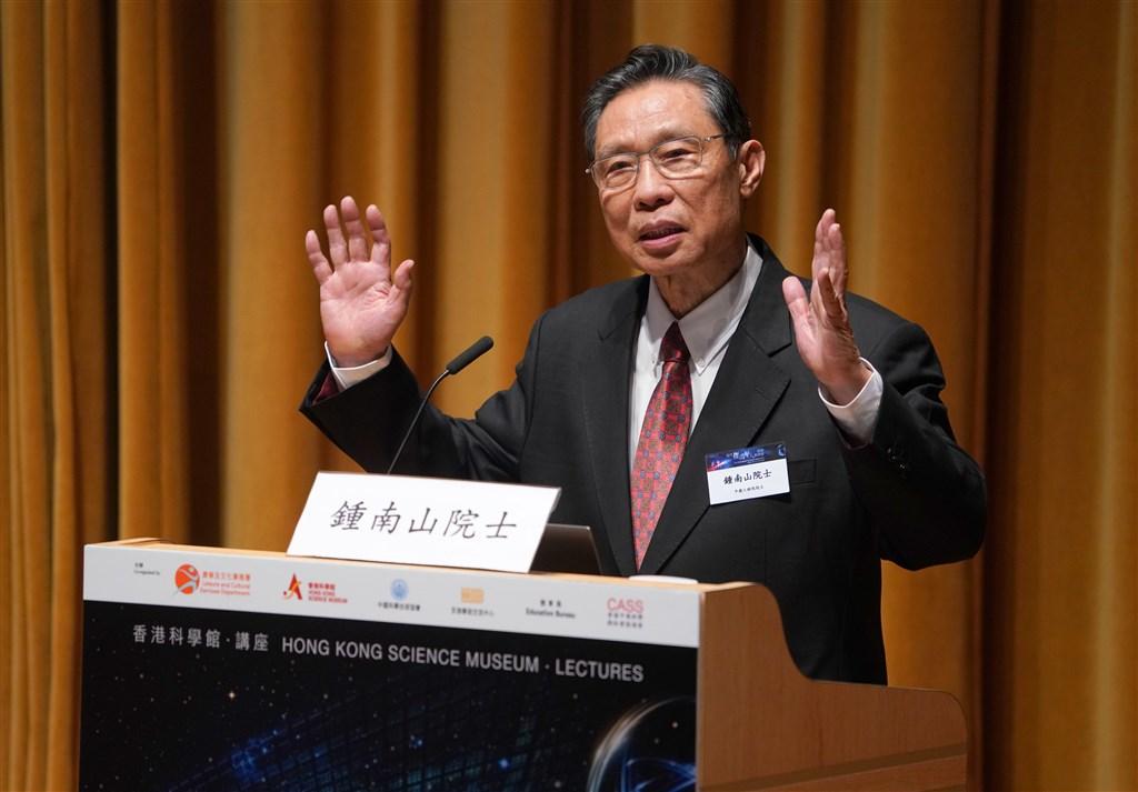 中國科技部21日宣布,成立以鍾南山(圖)為組長、14名專家組成的新型冠狀病毒感染的肺炎疫情聯防聯控工作機制科研攻關專家組。(檔案照片/中新社提供)